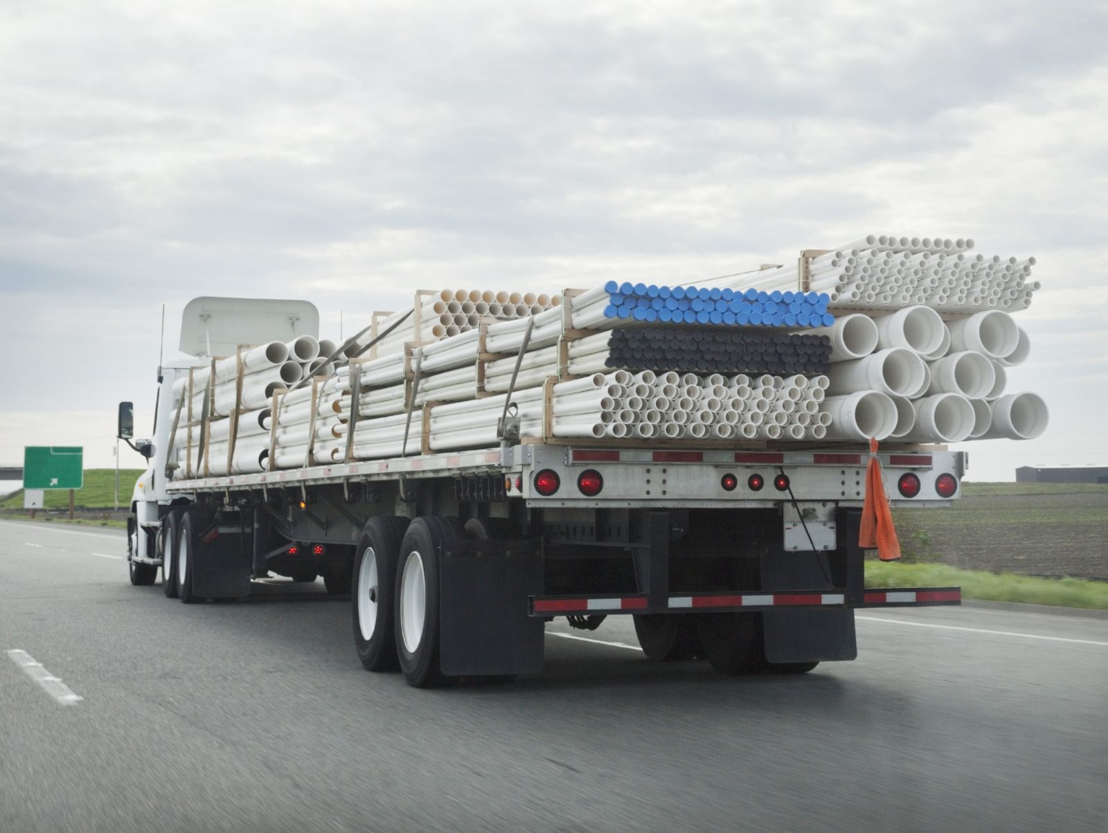 Large Truck Carrying Cargo