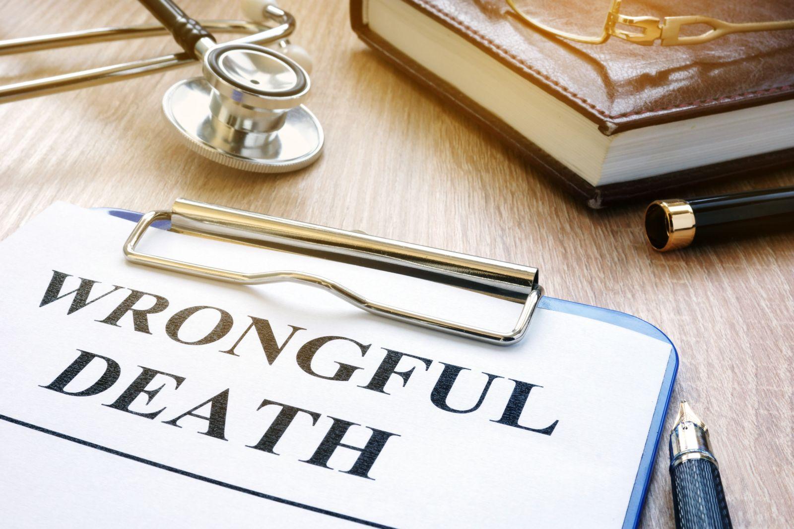 Wrongful Death Lawsuit Paperwork