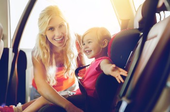 Children often suffer long-term car accident injuries.