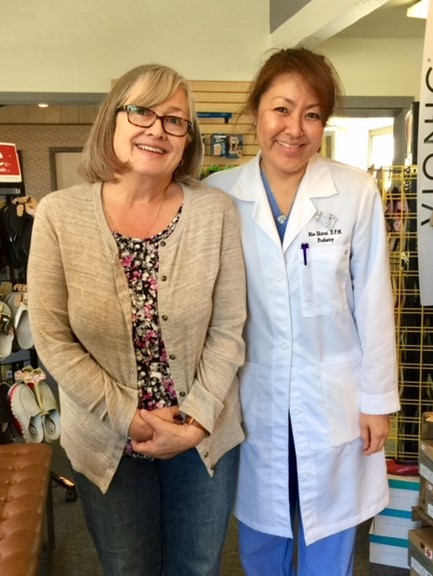 Dr. Mie Shirai and Marcia V