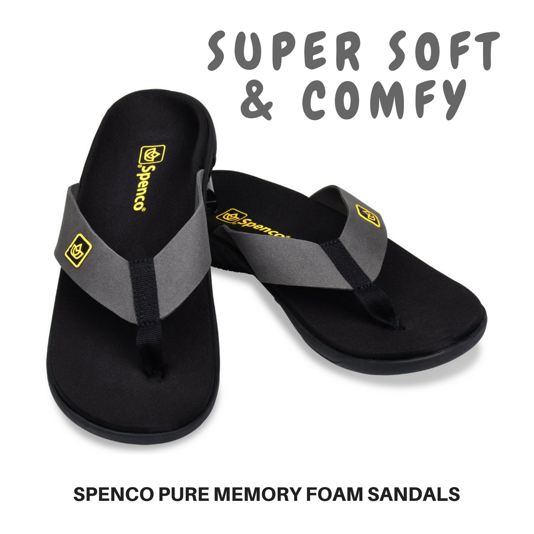 Spenco Pure Memory Foam Sandals