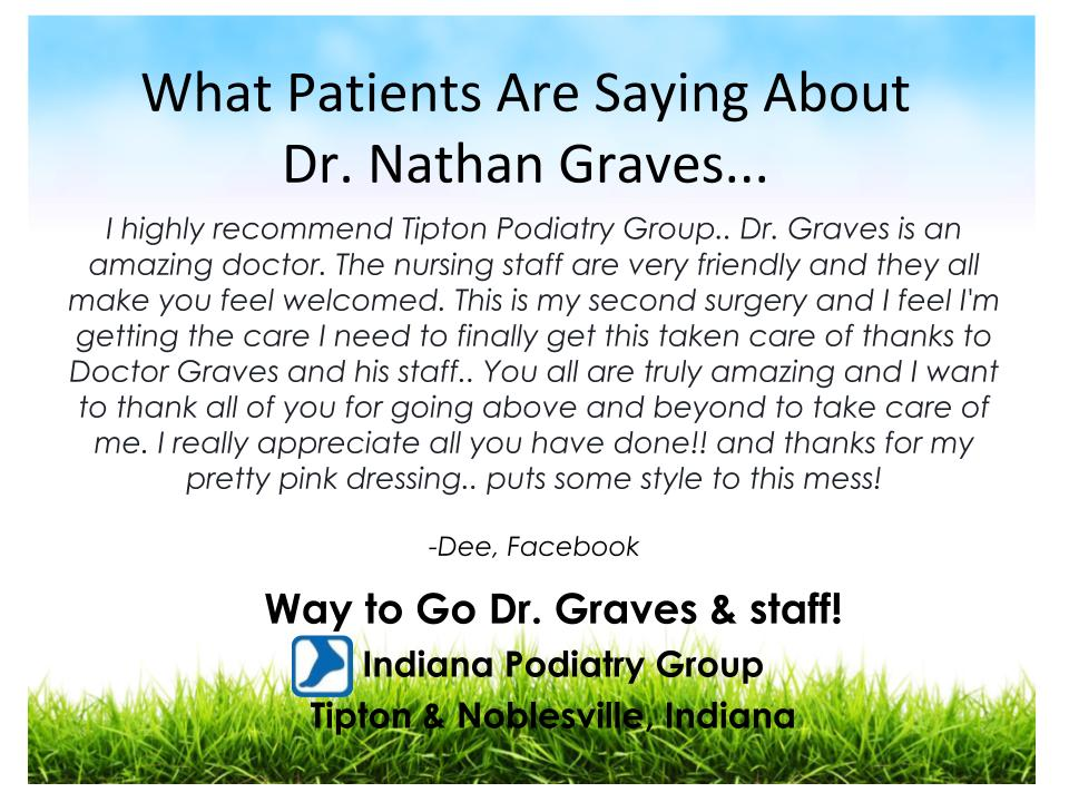 Dr. Graves is an amazing doctor.