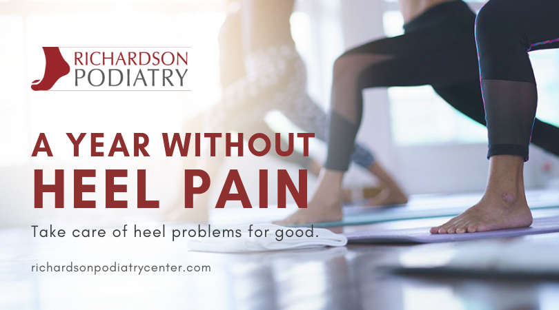 A Year Without Heel Pain