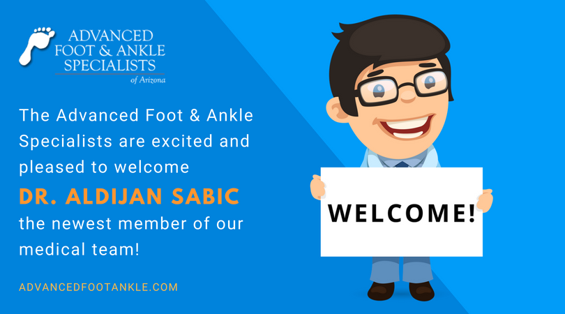 Welcome Dr. Sabic