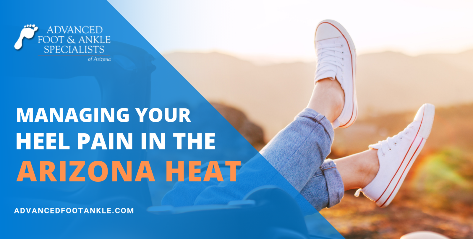managing heel pain in arizona heat