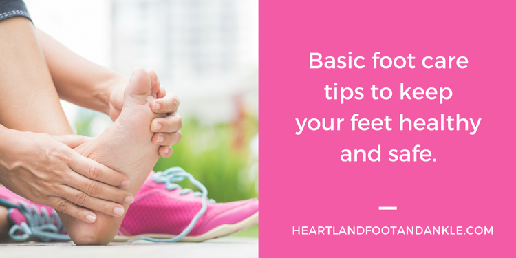 Basic Foot Care Tips