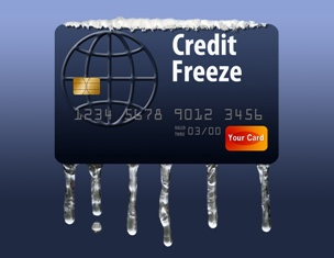 Credit Freeze Visualization With a Credit Card Cardoza Law Corporation