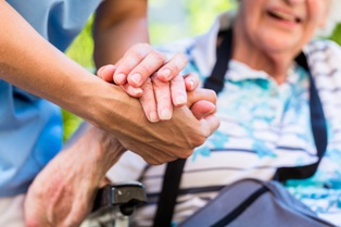 Elderly Woman With a Caregiver Cardoza Law Corporation