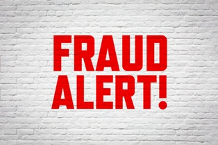 Fraud Alert in Red Lettering Cardoza Law Corporation