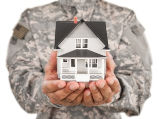 Serviceman Holding Military Housing in His Hands Mike Cardoza Law