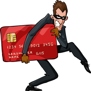 Robber with Credit Card