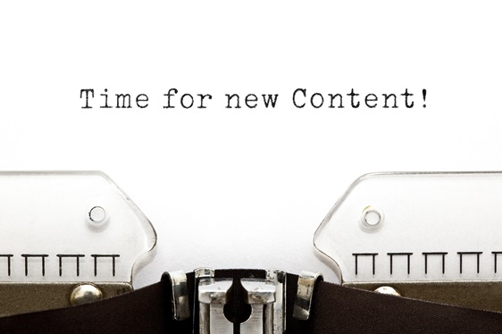 When to add new content to your website