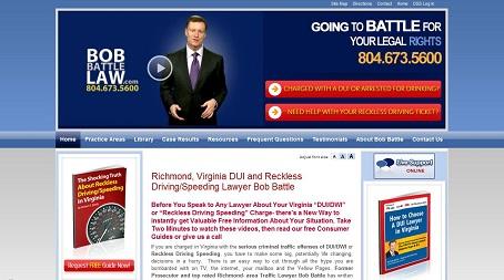 Bob Battle Law Website