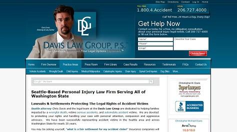 Davis Law Group Website