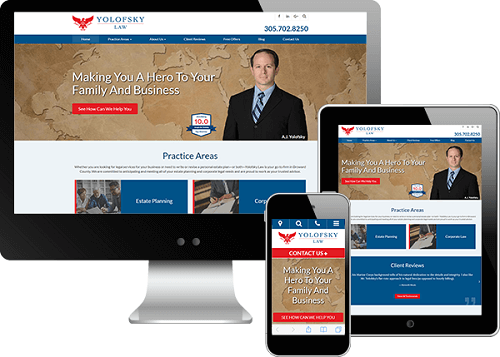 Estate Planning Attorney A.J. Yolofsky's New Website