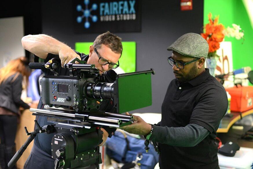Don Napoleon in Fairfax Video Studio