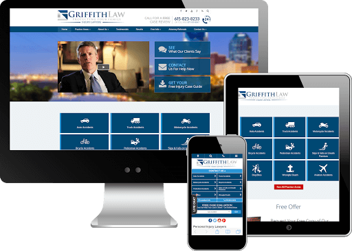 GriffithLaw Website Redesign
