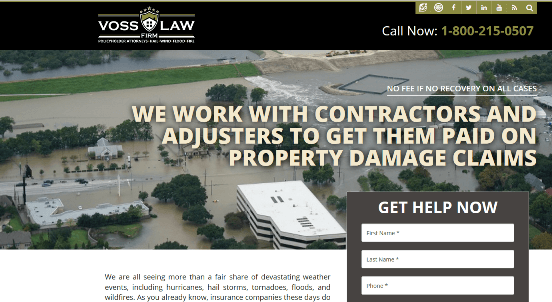 Law firm landing pages that convert