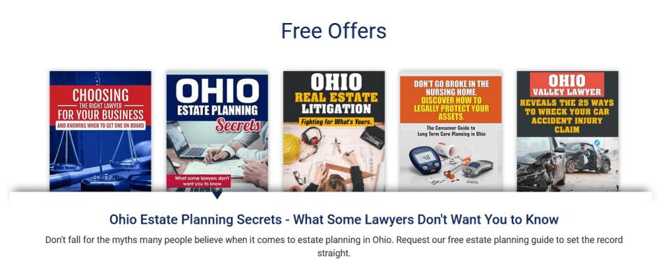 Free Offers on Littlejohn Law's Site