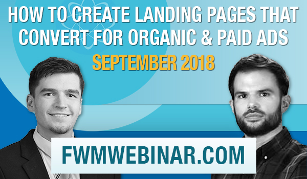 Tom Foster and Molly McCormick to present the August 2018 Webinar