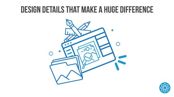 Law firm website design details