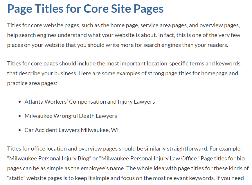 DSS content on live webpage