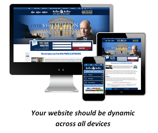 Keller and Keller website on all devices