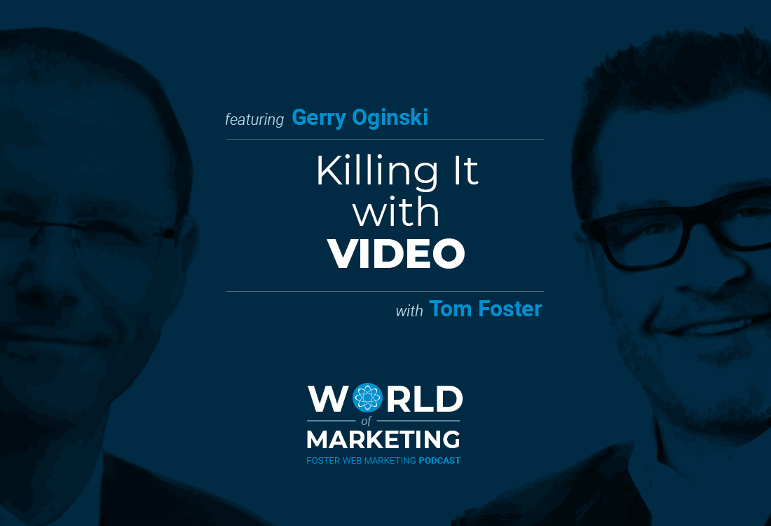 Podcast title card with Gerry Oginski on the left and Tom Foster on the right
