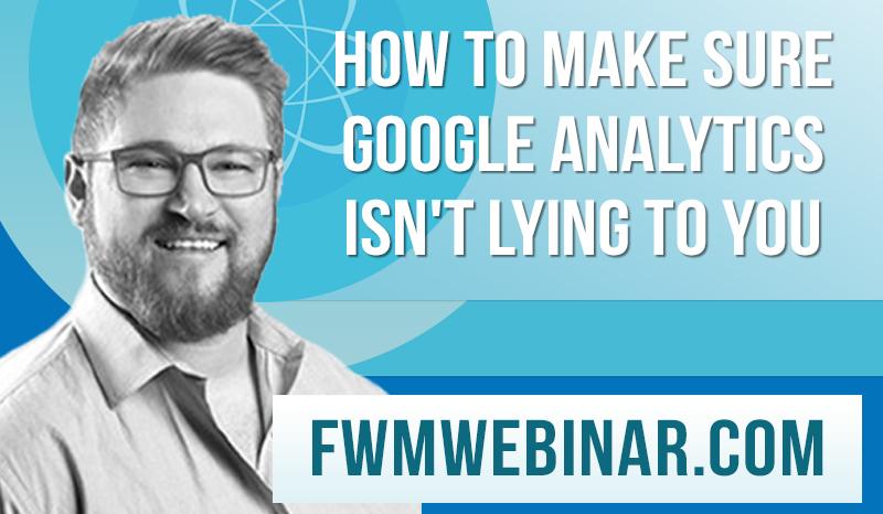 Google Analytics webinar Zach Stone