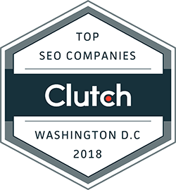 Clutch Top SEO Companies Award