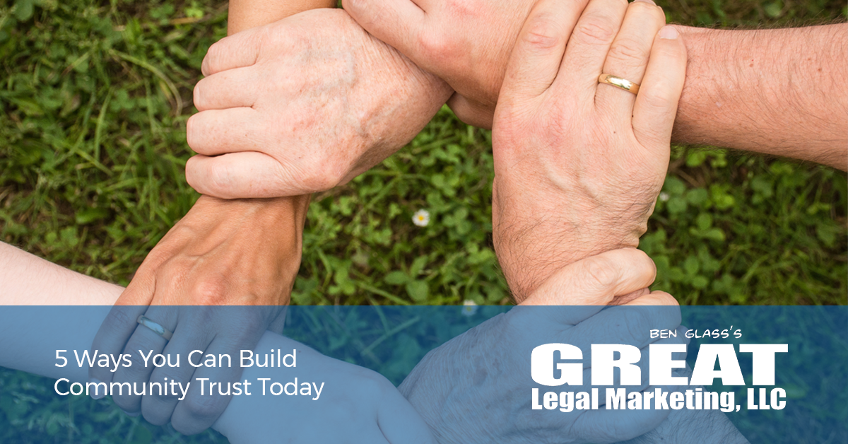 5 Ways You Can Build Community Trust Today