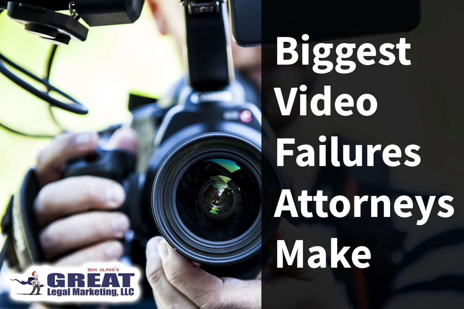 The biggest mistakes lawyers make when they create videos for their marketing