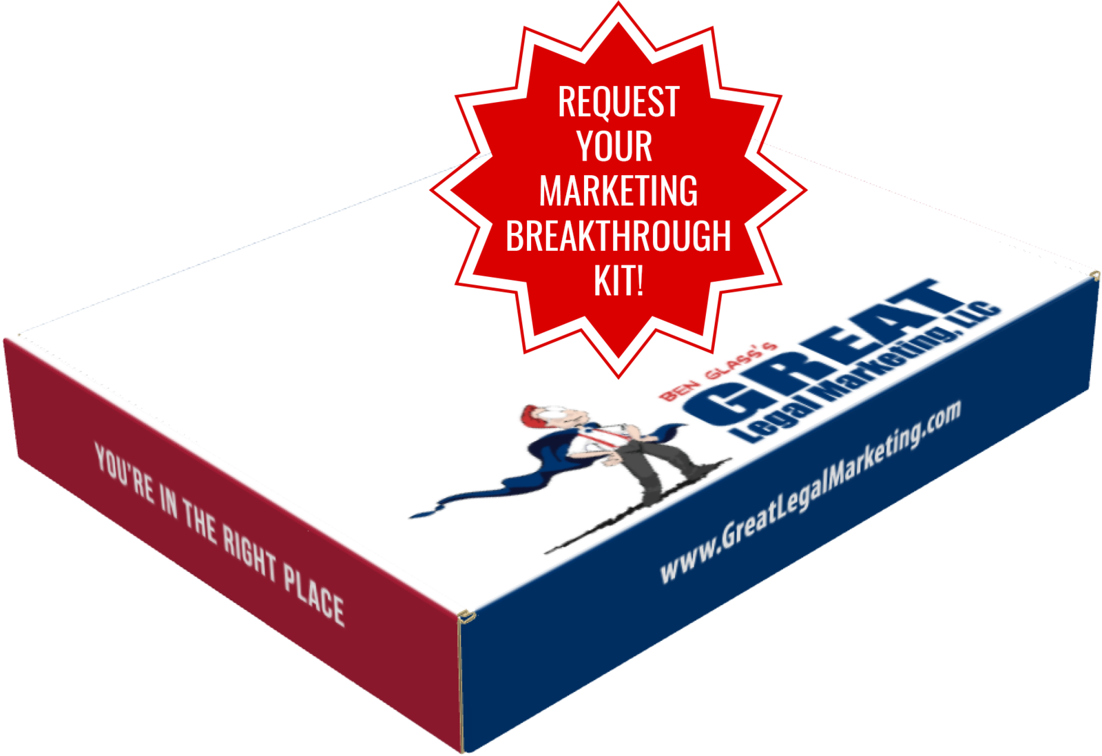 Request Your Marketing Breakthrough Kit from Great Legal Marketing!