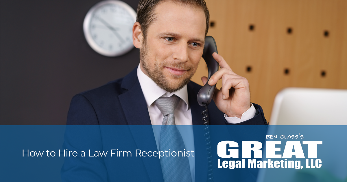 Do you need tips on hiring a receptionist for your law firm? Follow these tried-and-true tips.