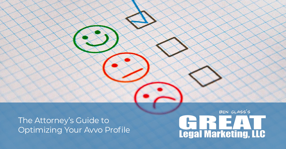 The Attorney's Guide to Optimizing Your Avvo Profile