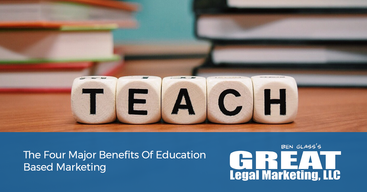 Why attorneys should be focused on teaching their clients about the practice of law.