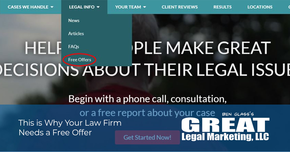 Free Offers for Law Firms and Attorneys