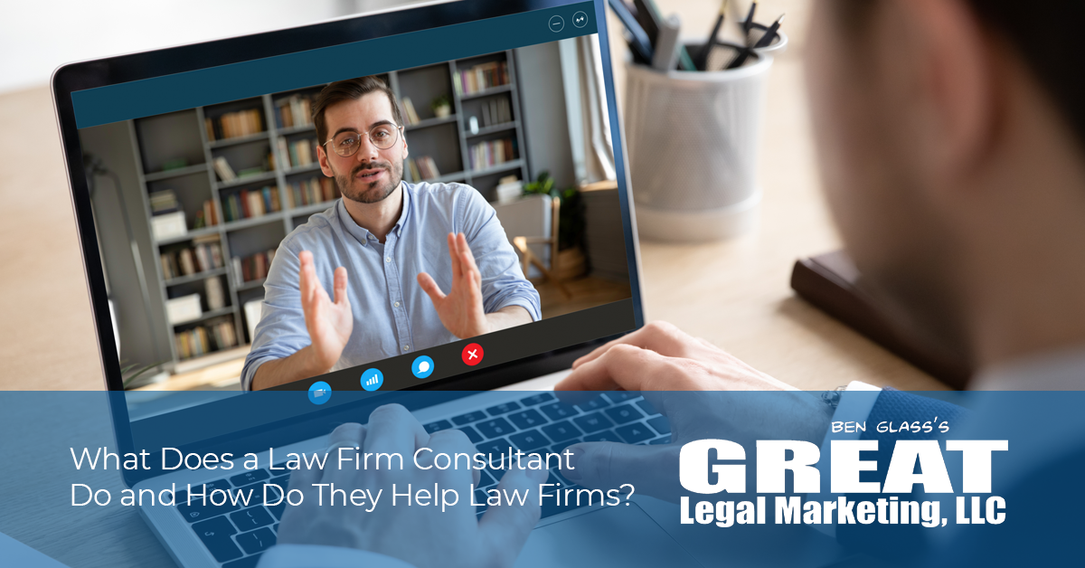 How do law firm consultants help law firms and attorneys?