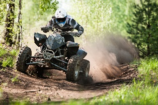 Reckless ATV driving