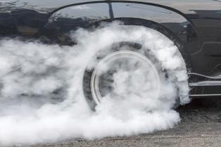 Vehicle seizure for drag racing
