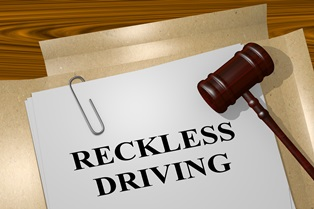 Reducing reckless driving to improper driving