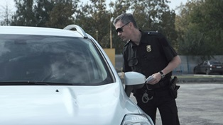 Talking to police after being charged with reckless driving