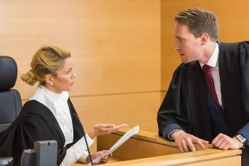 Having a lawyer appear in court for you