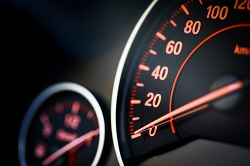Speedometer calibrations for reckless driving