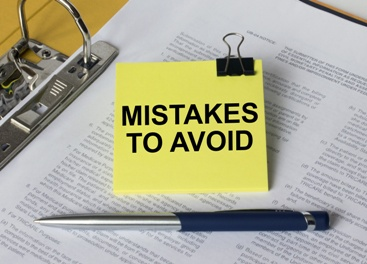 Mistakes to Avoid Sticky Notes