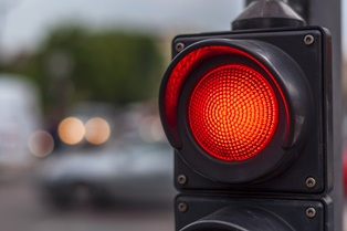 Serious statistics regarding red light crashes