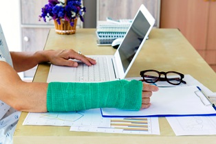 Compensation for office injuries