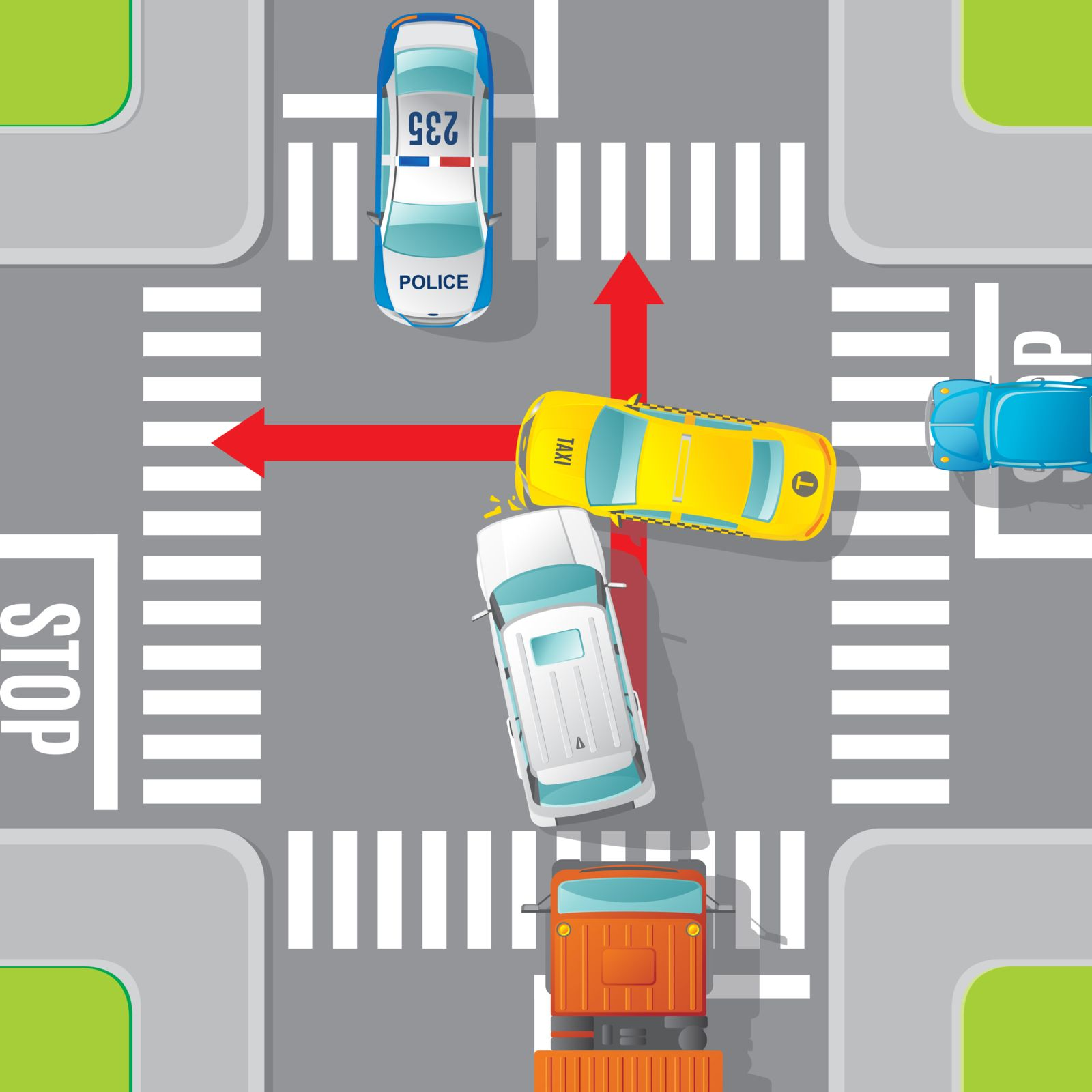 the massachusetts department of transportation massdot issues reports that evaluates the top crash intersection locations and top crash locations for