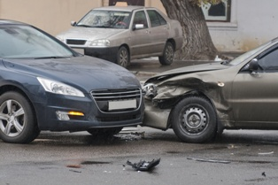 Two-Car Wreck That Lead to Driver Injuries