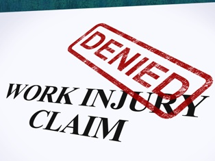 Workers' Compensation Work Injury Claim Denial